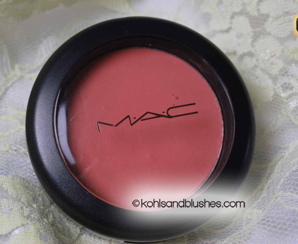 MAC Powder Blush Peaches Review