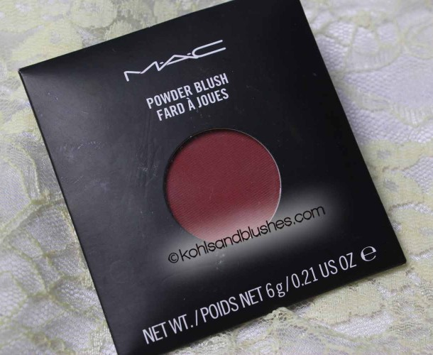 MAC powder Blush Fever Review