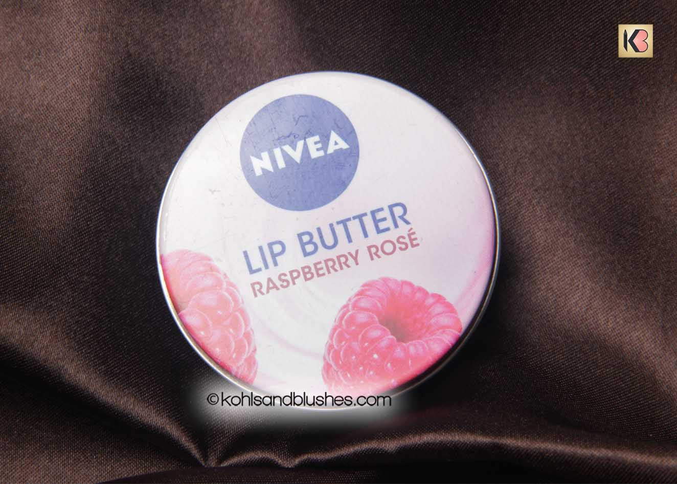 Nivea Lip Butter Raspberry Rose Review Kohls And Blushes