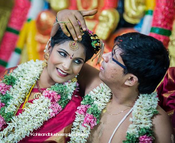 best Iyengar wedding makeup chennai