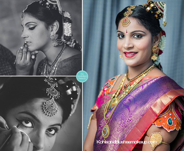 iyengar wedding makeup