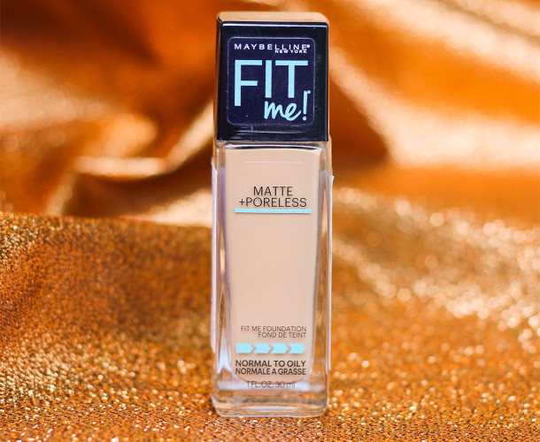 Maybelline FIT Me Matte + Poreless Foundation Review (Toffee Caramel 330)