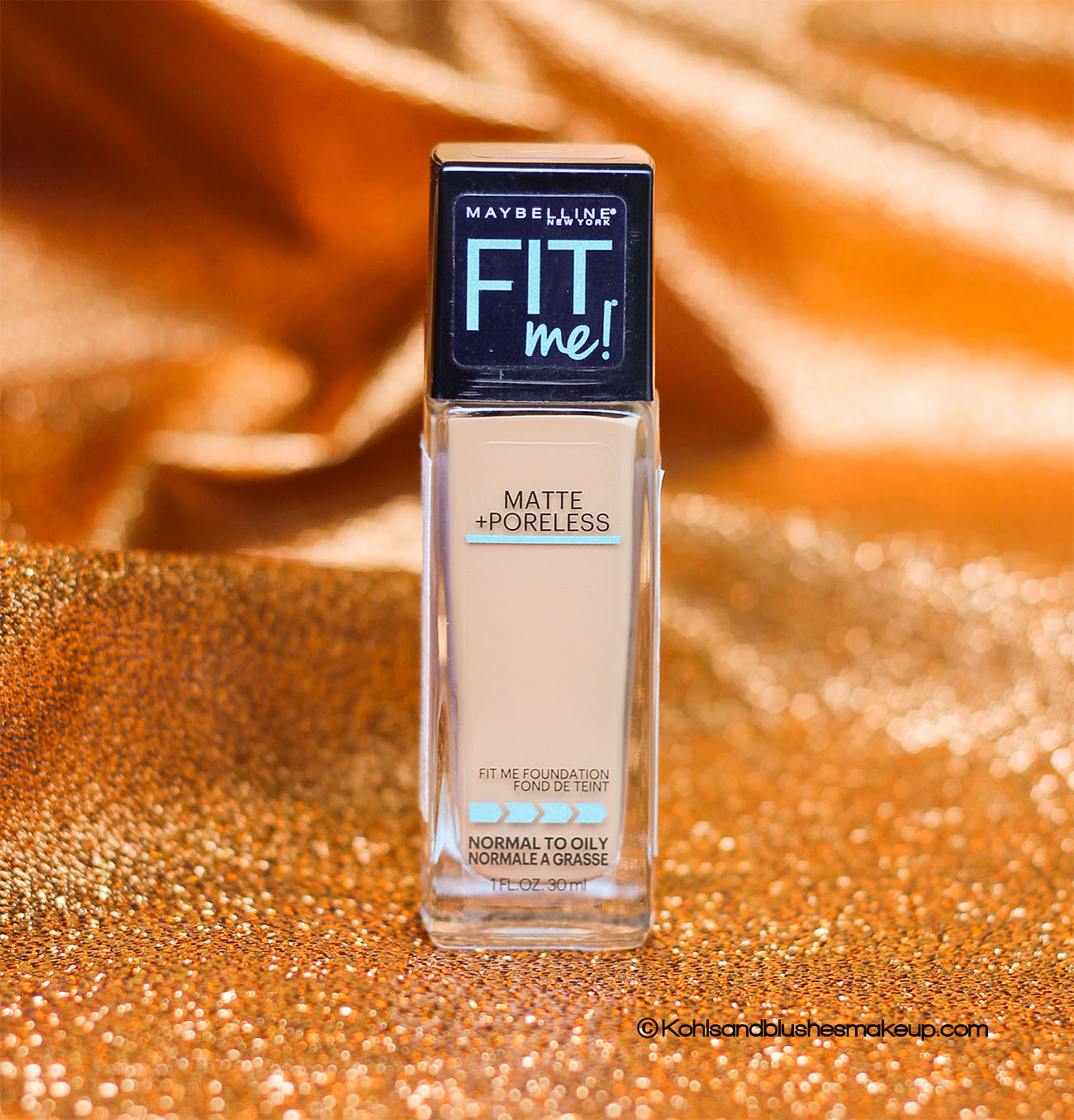 Maybelline Fit Me Matte Poreless Foundation Review Toffee Caramel 330 Kohls And Blushes