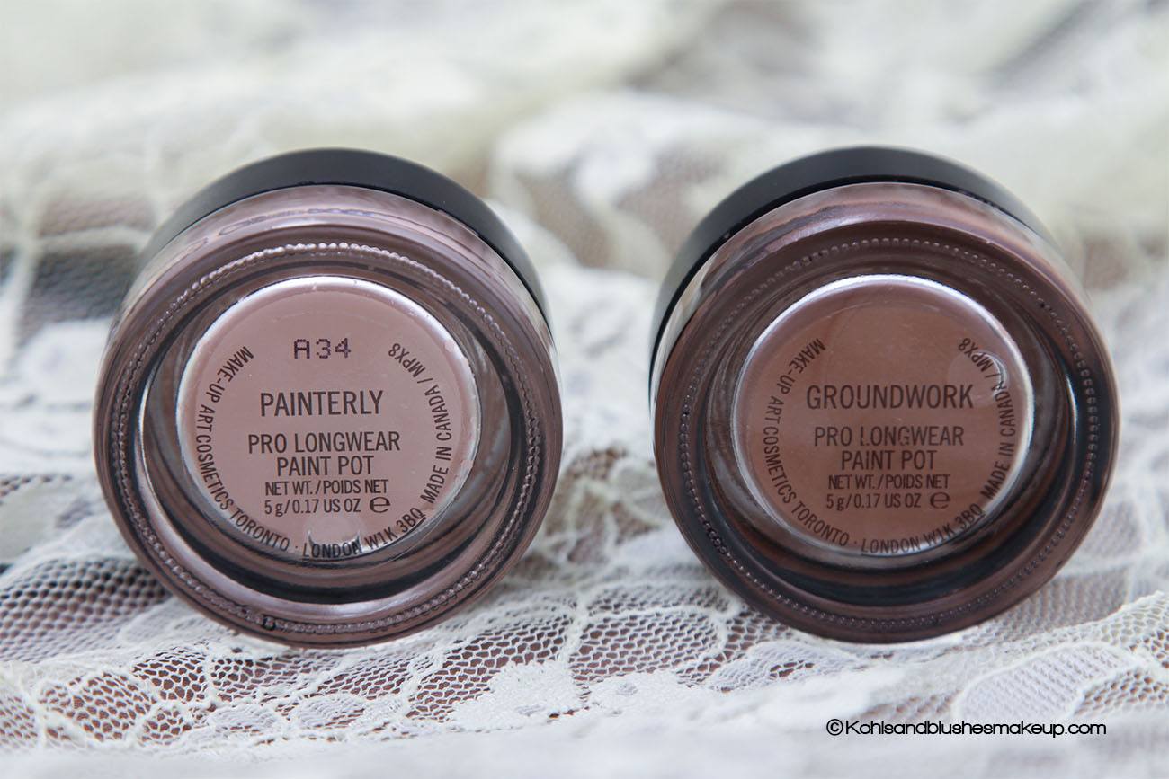 MAC Pro longwear Paint Pot and Groundwork