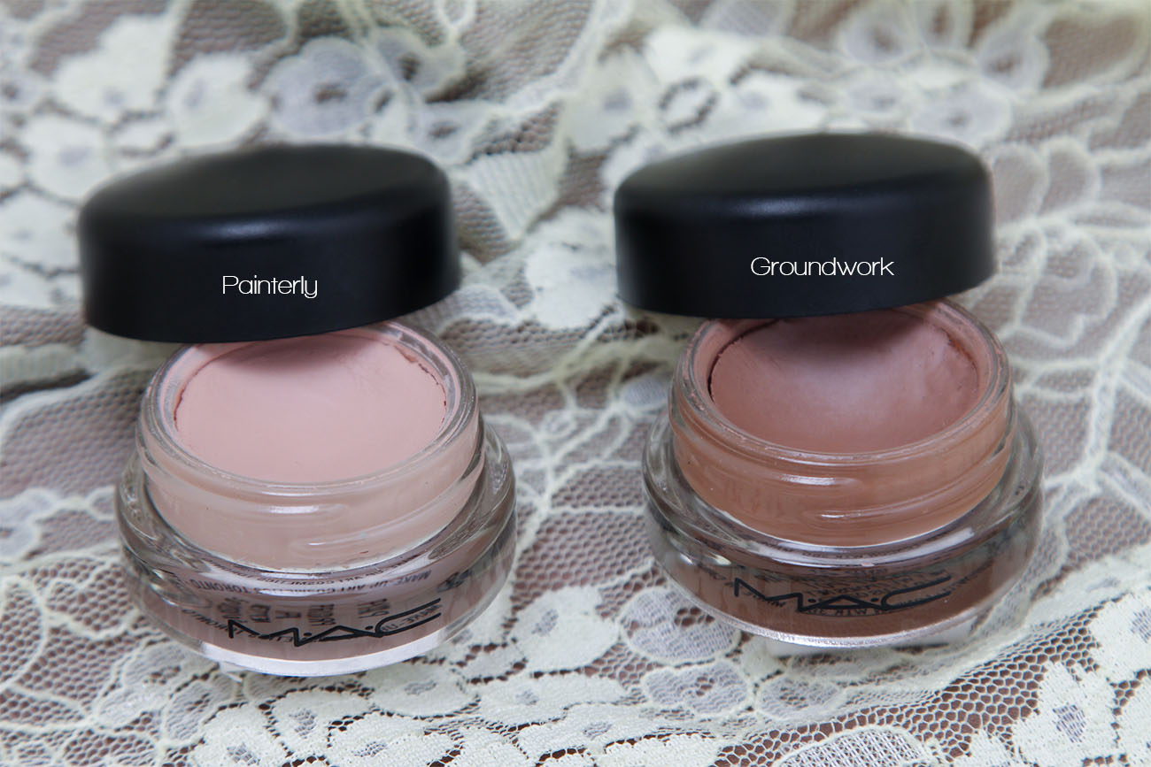 Mac pro longwear paint pot review painterly and for Mac paint pot groundwork