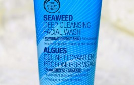 The Body Shop Seaweed Deep Cleansing facial wash review