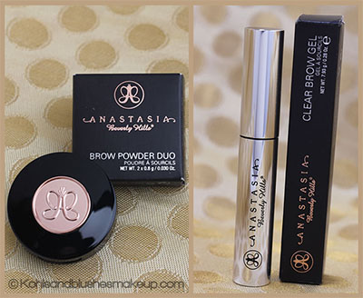 Anastasia Beverly Hills Clear Brow Gel & Anastasia Beverly Hills Brow Powder Duo Review